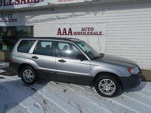 2008 Subaru Forester Anniversary edition 2.5 X AWD