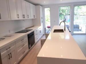 Devix Kitchen Cabinets Refacing and Quartz Countertops