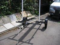 single motor cycle trailer