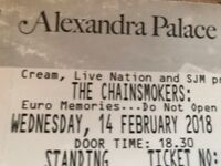 Two Tickets to Chainsmokers on 14th Feb