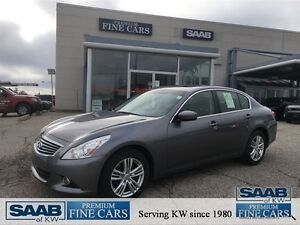 2012 Infiniti G37 AWD SUNROOF HEATED LEATHER ACCIDENT FREE BACK