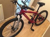 Carrera sol 24 mountain bike bicycle kids girls ladies