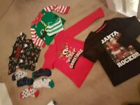 Boys 5 yo 6 years christmas clothes bundle Excellent condition