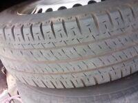 vw transporter T 5 spare wheel