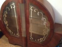 ANTIQUE Display Cabinet in good condition.