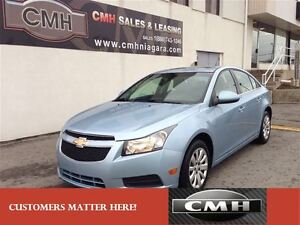 2011 Chevrolet Cruze LT BLUETOOTH LOADED *CERTIFIED*