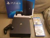 Boxed PlayStation 4 Pro 1TB Game Console