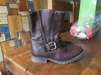 Next Girls Brown boot