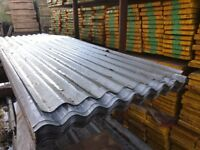 "Heavy Duty Corrugated Galvanised Roofing Sheets 26"" Wide"