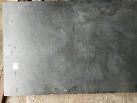 Granit black worktop