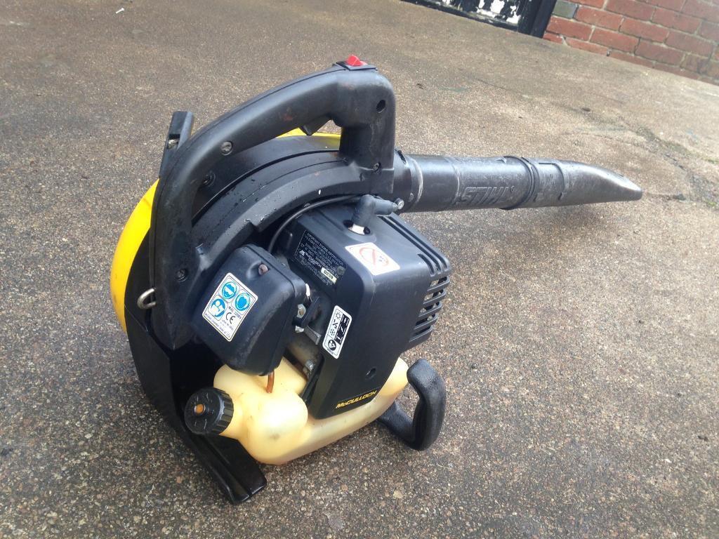 Mcculoch petrol leaf blower
