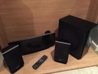 Panasonic blu Ray DVD player home entertainment system