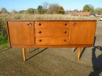 Lovely Retro Teak Sideboard Danish / G-Plan Influence Fully Restored Delivery Can Be Arranged.