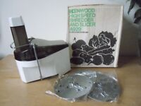 High speed kenwood shredder and slicer attatchment