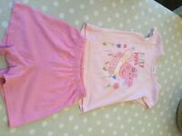 Bundle of girls summer clothes age 2-3 years