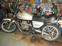 Moto Guzzi V50 III for sale 13368 miles only in excellent condition..
