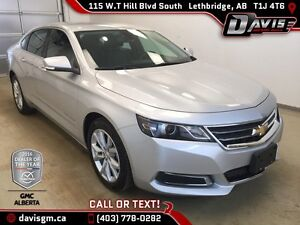Used 2016 Chevrolet Impala-Remote Start, Leatherette Trim