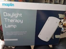 Daylight therapy lamp brand new in box