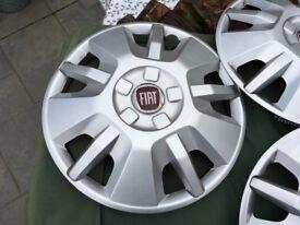 """Fiat Ducato 15"""" steel wheel hubs"""