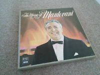 The Magic of Mantovani boxed set of 6 Vinyl LPs