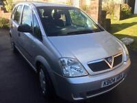 Vauxhall mervia people carrier mot £695