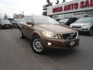 2010 Volvo XC60 AWD 5dr 3.0L T6 LEATHER PANORAMIC ROOF rack SAFE