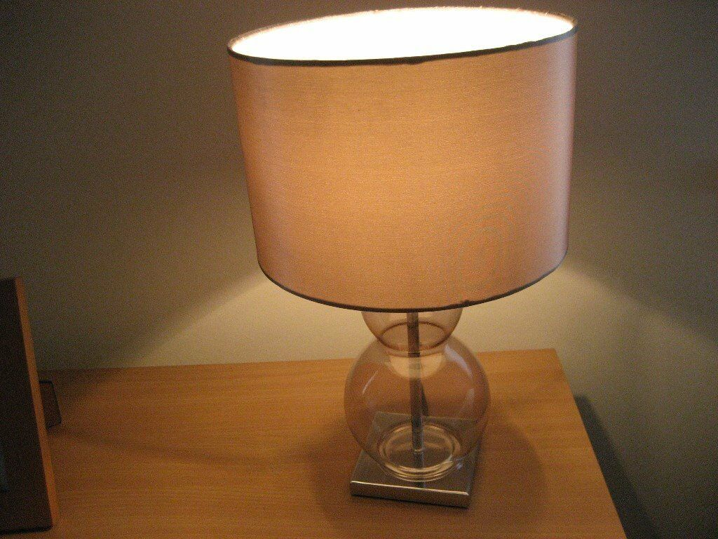 Next table lamp mink or taupe colour shade in erskine next table lamp mink or taupe colour shade aloadofball Image collections
