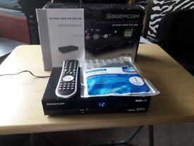 SAGEM RT190-320 T2 HD Freeview Full HD Channels 320GB hard drive
