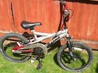 "18"" mountain bike good working condition"