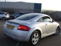 !!! AUDI TT 1.8 T QUATTRO SPORTS CAR COUPE !!! LEATHERS FULL SERVICE HISTORY !!!