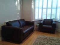 Brown Habitat Sofa & Armchair for sale in Ealing