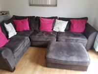 corner sofa very comfortable, foam cushions. very good condition