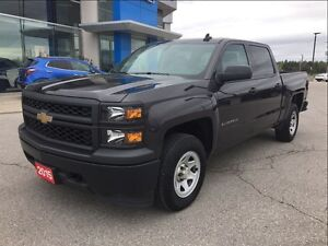 2015 Chevrolet Silverado 1500 ONE OWNER TRADE - CREW - 4X4