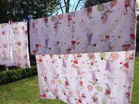 Gorgeous children's cotton bed linen - 2 x duvet covers and pillow cases