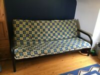 Metal framed futon - double bed
