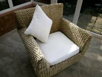 Single conservatory chair