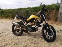 Rare kymco k pipe 125cc