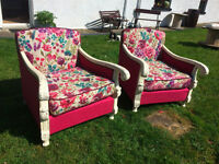 Upholstery, Recovering, Soft Furnishings, Upcycling Services available