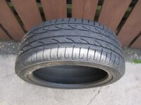 235/45/19 95v Bridgestone Dueler Sport H/P Tyre Old Stock Part Worn