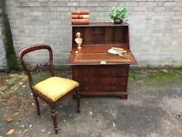 CHEST OF DRAWERS DESK/BUREAU FREE DELIVERY REGENCY STYLE