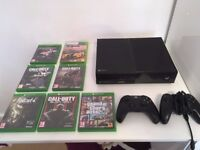 XBOX One 500GB with *TWO* Controllers & 8 Games - GTA V, CoD BO3, Fallout 4..