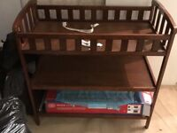 Babies Wooden 3 Tier Changing Table