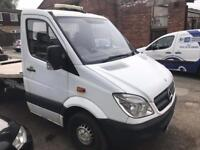 Mercedese sprinter recovery truck for sale