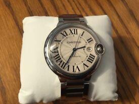 CARTIER BALLON BLEU 42mm Stunning Watch