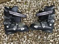 Ladies Salomon Ellipse 7.0 ski boots size 25/25.5