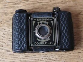 Vintage 1930s Ensign Double-8 Camera