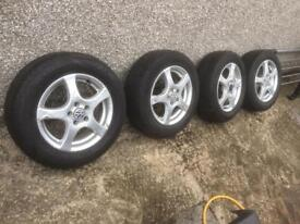 "Volkswagen 15"" alloys"