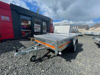 BRAND NEW 8.7 x 4.2 SINGLE AXLE TEMARED ECO TRAILER WITH FULLY LOCKABLE HARDTOP ABS 750KG 🔒