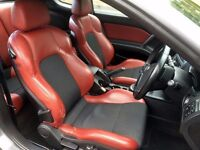 Hyundai Coupe 1.6 SIII S, RED LEATHERS and Carbon Grey combo looks stunning, Drives VERY WELL!