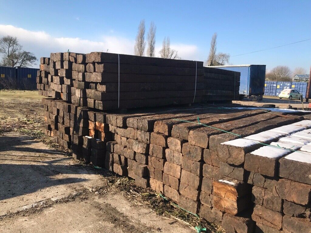 Reclaimed Railway sleepers | in Chichester, West Sussex ...